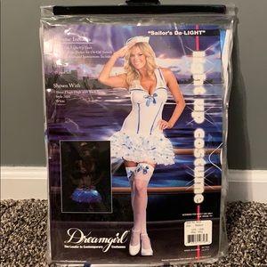 New in bag Sailor's Delight costume